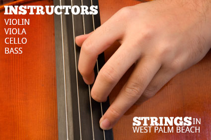 Local strings instructors for greater west palm beach florida for violin, viola, cello, and bass